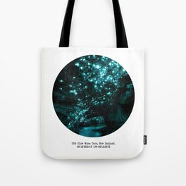 005: Glow Worm Cave, New Zealand Tote Bag