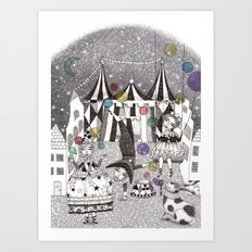 Night Carnival Art Print