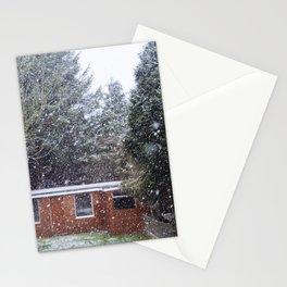 Neve em Londres - 5 Stationery Cards