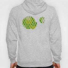 Green Isometric Pattern Hoody