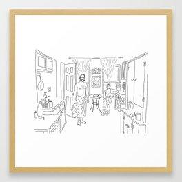 Knickerbocker Ave. Framed Art Print