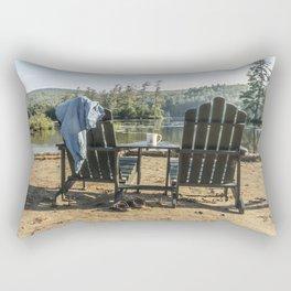 Adirondack Chairs Rectangular Pillow