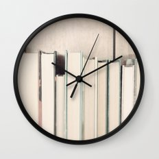 The Book Collection Wall Clock