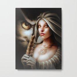 Dreaming Athena Metal Print
