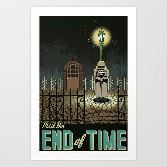 Chrono Trigger End of Time Travel Poster Kunstdrucke