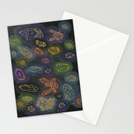 Crystal Healing Stationery Cards