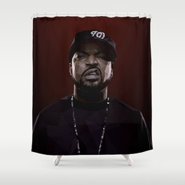 Ice Cube Shower Curtain