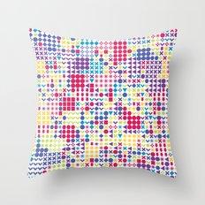 Fun Pattern Throw Pillow
