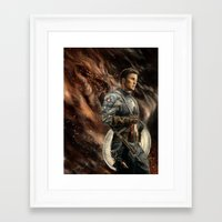 captain Framed Art Prints featuring Captain by Linarts