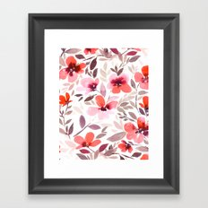 Espirit Blush Framed Art Print