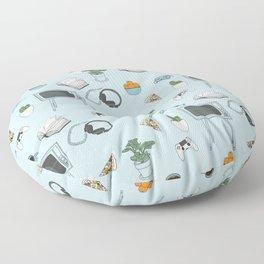 Friday Night Party {for introverts} Floor Pillow