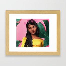 honey. | bleu's creations Framed Art Print