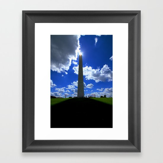 Freedom! Framed Art Print