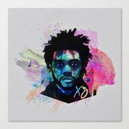 Abel Painting Canvas Print
