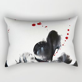 Blood and Tears Rectangular Pillow