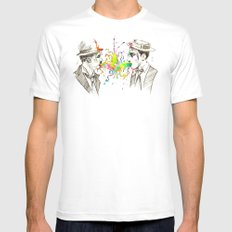 The Tramp v. Stone Face Mens Fitted Tee White MEDIUM