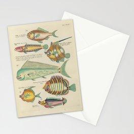 Vintage Fish Illustration IV Stationery Cards