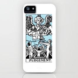Modern Tarot Design - 20 Judgement iPhone Case