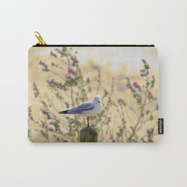 Resting Seagull Carry-All Pouch