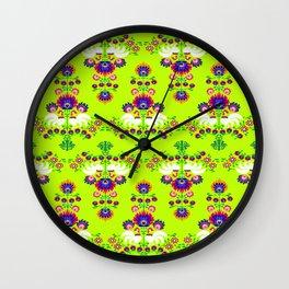 Polish folk pattern Wall Clock