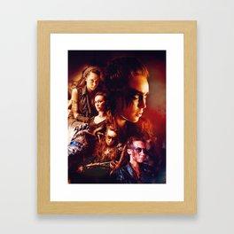 The 100: Heda Framed Art Print