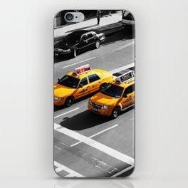 New York Cabs. iPhone Skin