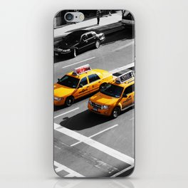 New York Cabs. iPhone Skin