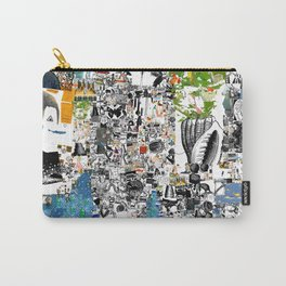 Oli Goldsmith Portrait of The Artist as His Art Carry-All Pouch