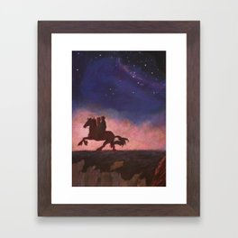 The Scorpio Races Framed Art Print