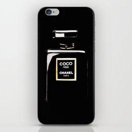 Classic Black Parfum on black iPhone Skin