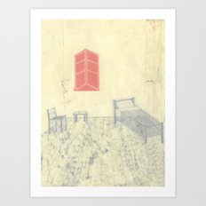 the room Art Print