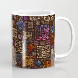 Mayan glyphs and ornaments pattern #3 Coffee Mug