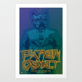Patton Oswalt Grumpus Poster (Seattle) Art Print