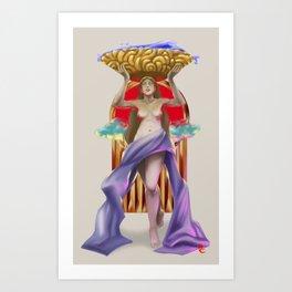 Labandera Art Print