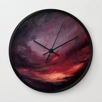 cargline Wall Clocks featuring Day Break by cargline