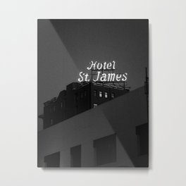 The Historic Hotel St. James Metal Print