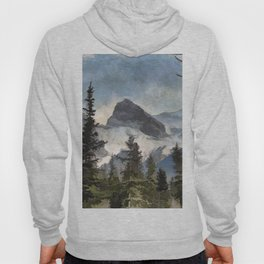 The Three Sisters - Canadian Rocky Mountains Hoody
