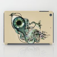 inspiration iPad Cases featuring Flowing Inspiration by Enkel Dika