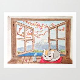 Nyanko-sensei (Natsume Yuujinchou) Art Print