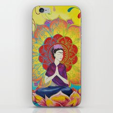 Frida Transcending Mandala and Lotus Blossom iPhone Skin