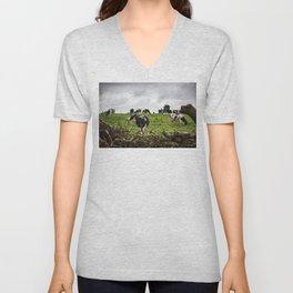 Cows Unisex V-Neck