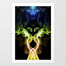Smoke Photography #29 Art Print