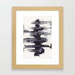 the spinal column Framed Art Print