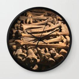 The Bones Wall Clock