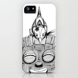 '恐怖核心與小鳥 Scarecore and Bird' Cover Illustration 2 iPhone Case