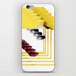 womannnn iPhone Skin