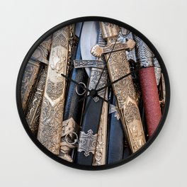 Cold steel arms Wall Clock