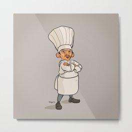 Ratatoille   Chef Skinner Metal Print