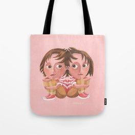 Gemini (rose) Tote Bag