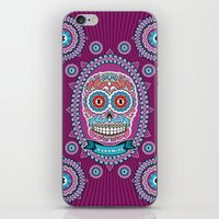mexican iPhone & iPod Skins featuring Mexican Skull by Xonomitl